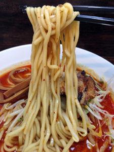 シビカラ味噌 麺上げ