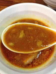 ローストカレーつけ麺のチャーシュー