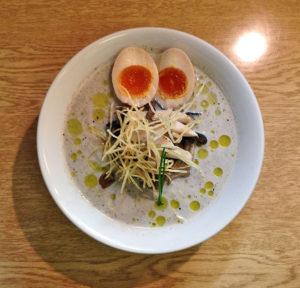 きのこポタージュ麺