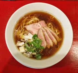 鴨醤油らーめん(細麺)