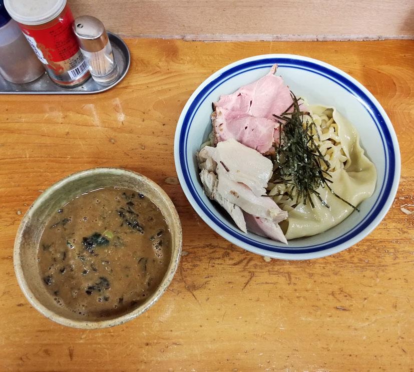 蟹味噌つけ麺