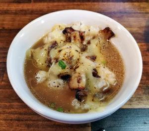 チャーシューチーズご飯+スープ