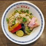 夏野菜の豚しゃぶ冷やし麺