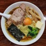 「らあめん」730円+「生たまご」50円+「バター」50円