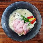 鶏とじゃがいもの冷やし和え麺