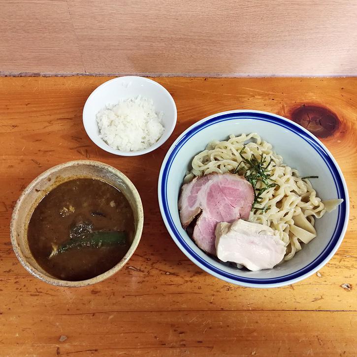 シーフードカレーつけ麺