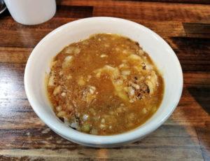 チーズごはん+スープ