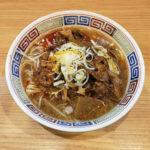 牛骨パイタン麺(牛すじのっけ)