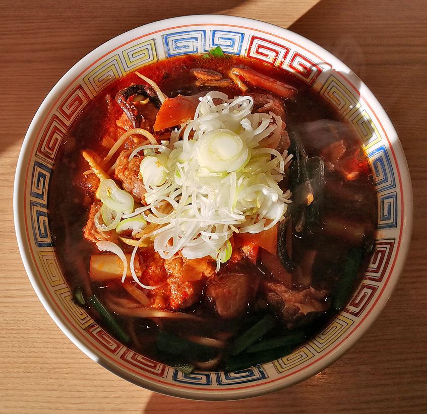 ユッケジャンカルビ麺