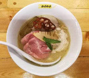 越乃寒梅八海山大吟醸白味噌らぁ麺