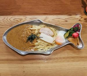 雲丹和え麺