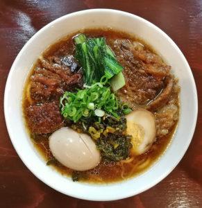 五ノ神的牛肉麺
