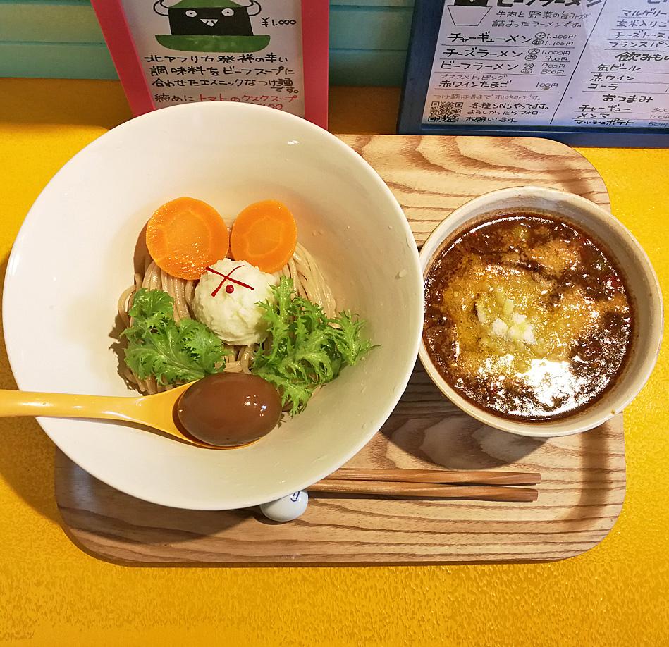 ハリッサつけ麺