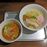 甘エビと鶏ガラの野菜つけ麺